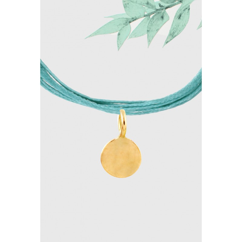 Charm grande pampille or jaune